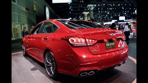 New Hyundai Genesis G80 Sport
