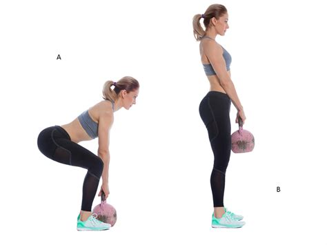 kettlebell deadlift workout beginners exercises exercise hamstrings glutes fitness guide tush brazilian butt build perfect ball start workouts powerful front