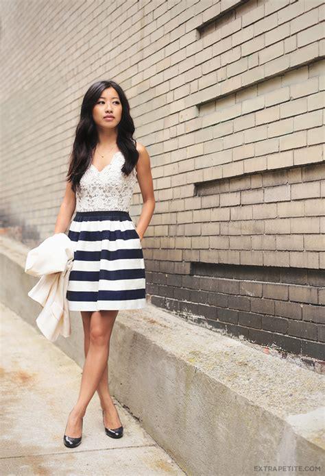 feminine favorites ivory crochet nautical stripes