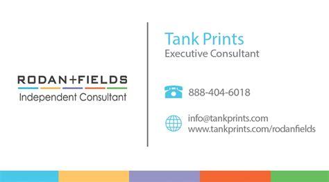 rodan fields business card design