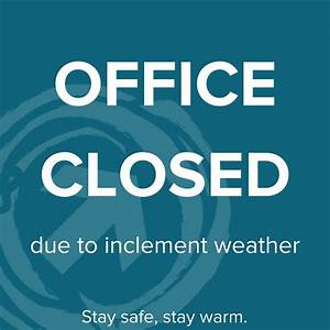 Thursday January 4-Office Closed - Rising Tide Capital