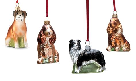breeds ornaments groupon goods - Dog Christmas Ornaments By Breed