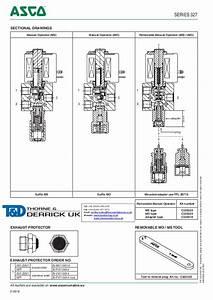 Asco Atex Solenoid Valves - 327 Series