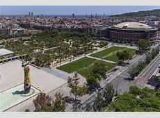Parc de Joan Miro between nature and culture Barcelona