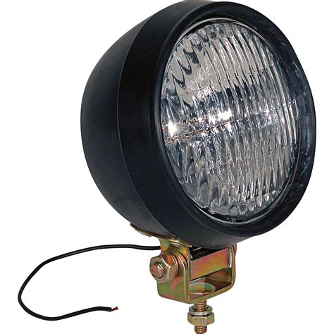 buyers products 12 volt halogen utility light 5in 35