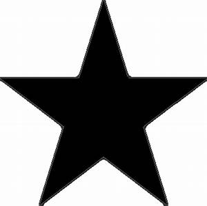 Black and White Star Clip Art - Pics about space