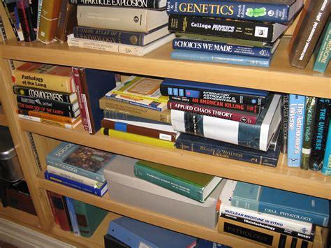 Big Bookshelf by File The Big Theory Apartment 4a Bookshelf