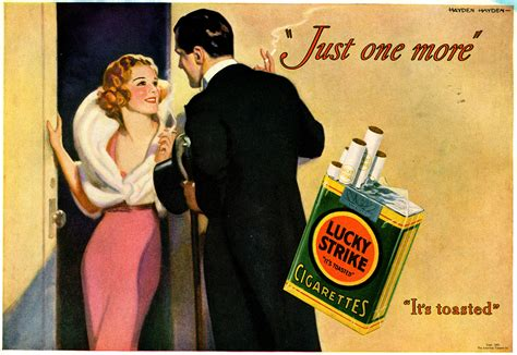 Seeing Through The Smoke Of Vintage Cigarette Ads