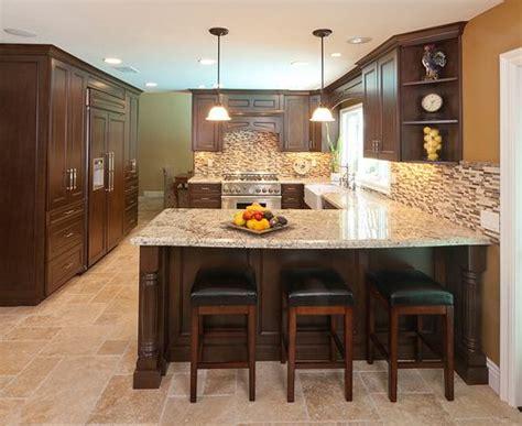 kitchen island from cabinets best 25 kitchen island bar ideas on kitchen 5070