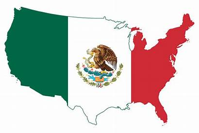 Mexico Flag Map States United Wikimedia Mexican