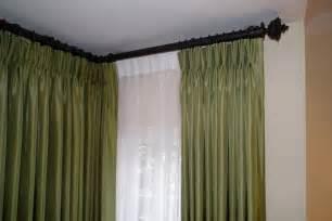 Double Curtain Rod Brackets Walmart by Corner Curtain Rods Buy Corner Window Curtain Rods