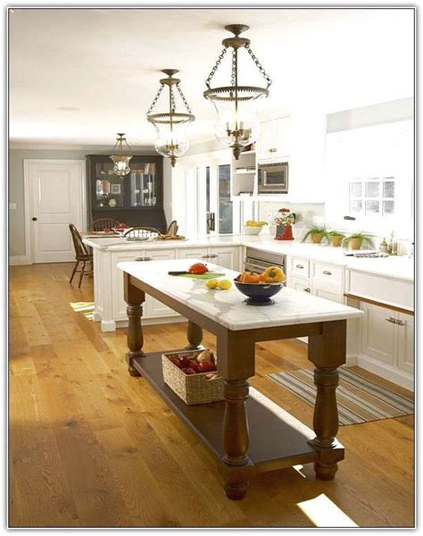 narrow kitchen design with island inspiring narrow kitchen island imposing design 7061