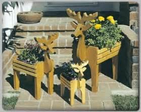 change  reindeer  planters  pinterest