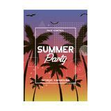 modern style summer flyer template stock vector illustration of page 42759870