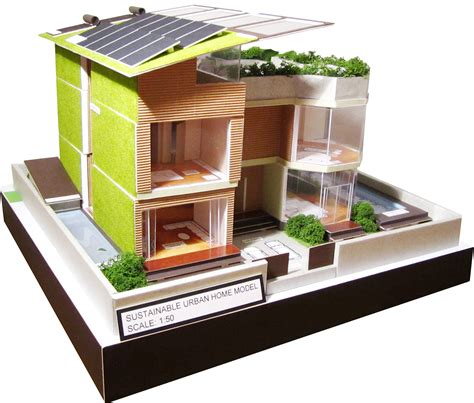 Sustainable House Design By Joan Xu At Coroflotcom