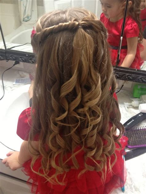 cute  girls hair style   special occasion