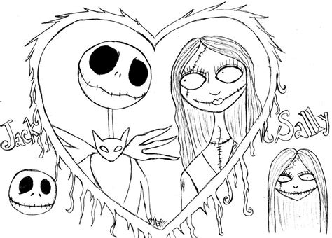 free coloring pages free printable nightmare before coloring pages
