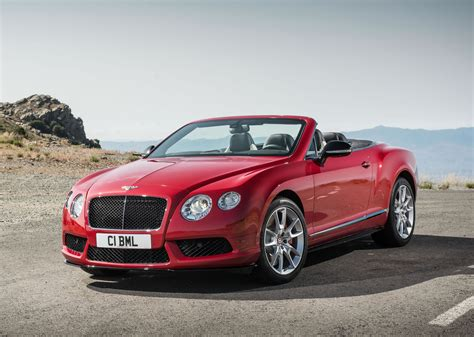 bentley continental gt   convertible front photo
