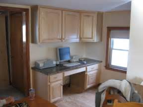 Hide Microwave In Cabinet by Connie S Kitchen And Computer Desk Remodeling Ideas