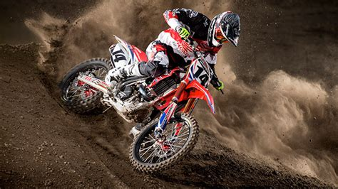 motocross racing honda red riders off road atv motocross and road