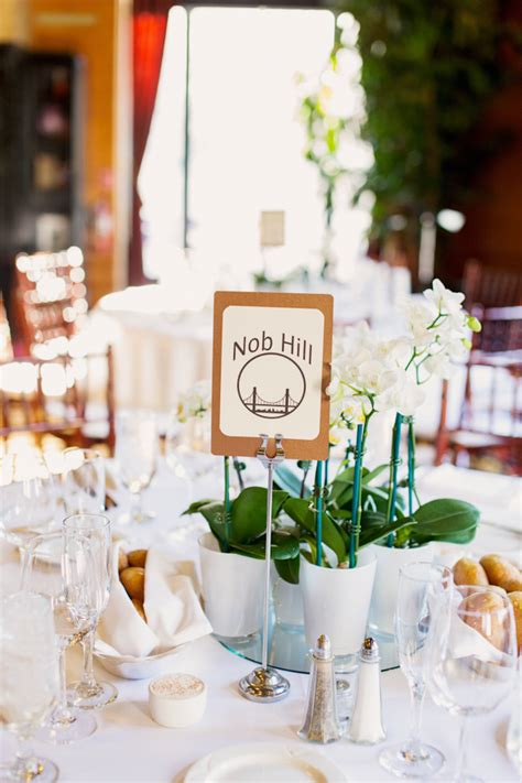 White Orchid Wedding Centerpieces Elizabeth Anne Designs