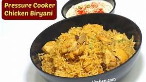 Quick Chicken Biryani | Pressure Cooker Chicken Biryani ...