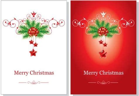 christmas card vector  vector