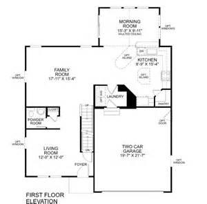 Ryan Homes Florence Floor Plan