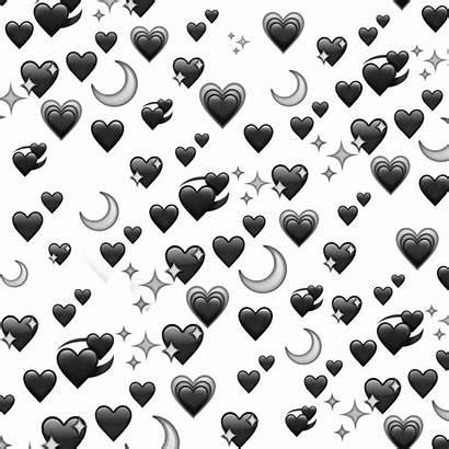 Emoji Picsart Heart Hearts Moon Background Emojis