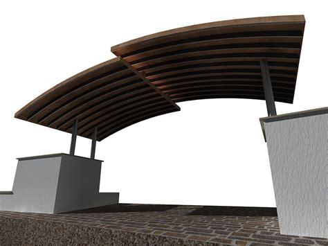 progetto tettoia tettoia in ferro e rame fferrarini rsm