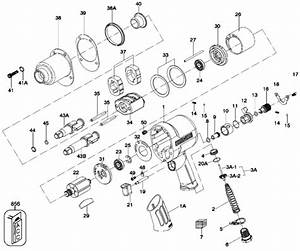 Porter Cable Pt502 Impact Tool Parts