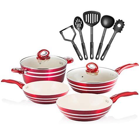 cookware chef professional pans pots star piece cream induction non grade stick aluminum chefs ready induc sets walmart kitchen symmetry