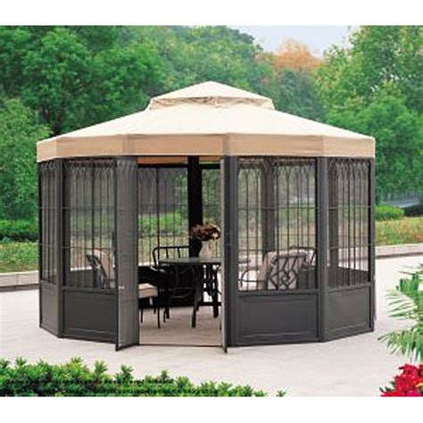 Sears Replacement Patio Umbrella by Sams Club Sunhouse Gazebo Replacement Canopy L Gz050pst