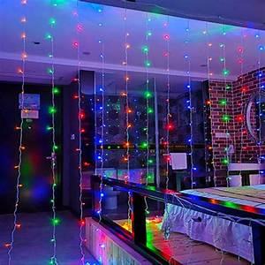 300leds, Christmas, Holiday, Lighting, 3x3, Meters, 18w, Ip44, Waterproof, Xmas, Garden, Garland, Indoor