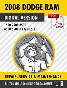 2008 Dodge Ram Truck 1500 2500 3500 4500 5500 Dx Diesel