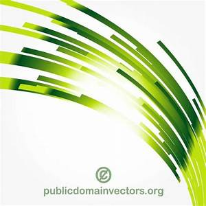GREEN ABSTRACT LINES VECTOR - Download at Vectorportal