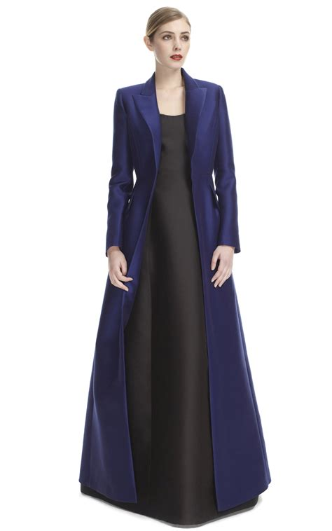 Long Evening Dresses with Coats