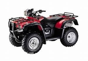 Honda Foreman Atv Service Manuals