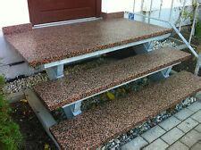 außentreppe mit podest stein treppenstufen aussen treppen ebay