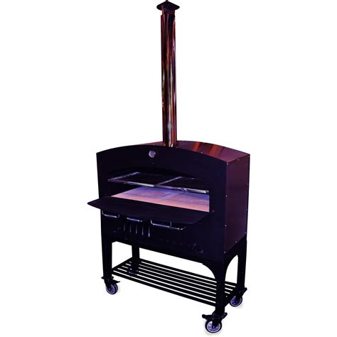 outdoor pizza oven cost sales for tuscan chef gx d1 large outdoor wood fired pizza oven on cart prices price llhowrll