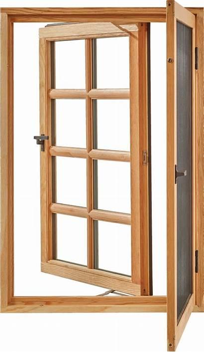 Casement Window Pushout Windows Wood Open Sedona