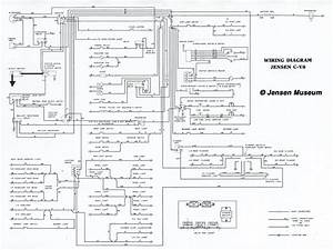 jensen cv8 mki mkii wiring diagram the jensen museum With jensen wiring diagrams pictures to pin on pinterest