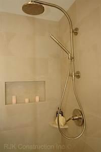 Kohler Hydrorail Bathroom Traditional With Archer Bathtub