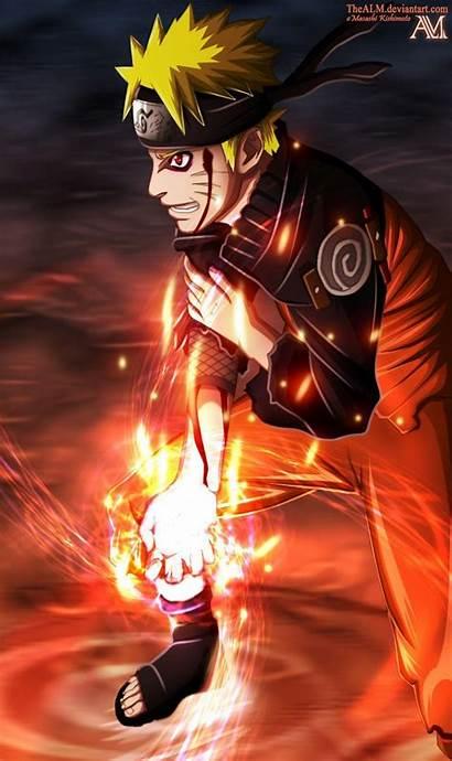 Naruto Rasengan Kyubi Deviantart Uzumaki Sasuke Shippuden
