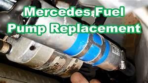 Mercedes E320 Fuel Pump Replacement Overview  Instructions
