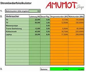 Solaranlage Wohnmobil Berechnen : autarke stromversorgung im wohnmobil amumot ~ Themetempest.com Abrechnung