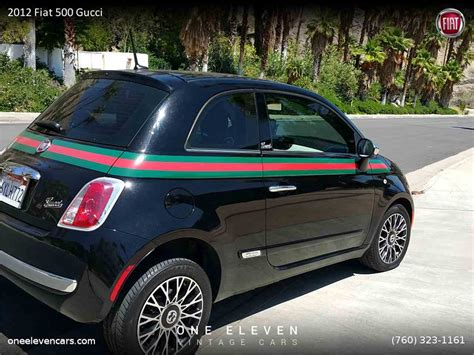 Gucci Fiat 500 For Sale by 2012 Fiat 500 Gucci For Sale Classiccars Cc 874031