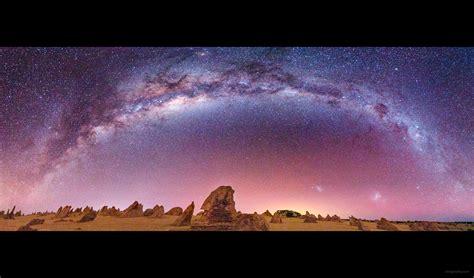 Degree Milky Way Panorama Western Australia