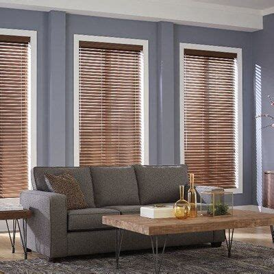 premium faux wood blinds thehomedepot