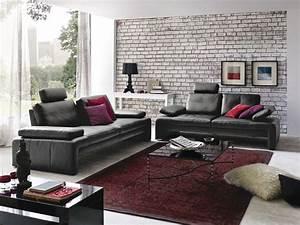 Sofa Mit Abnehmbaren Bezug : garnitur fenja modernes kubisches sofa mit sitztiefen und armteilverstellung der schwarze ~ Bigdaddyawards.com Haus und Dekorationen